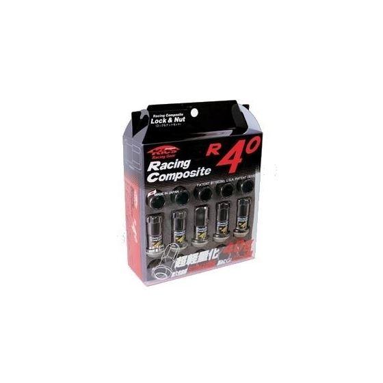 Project Kics 12X1.50 Black R40 Lug Nuts - 20 Pcs-4