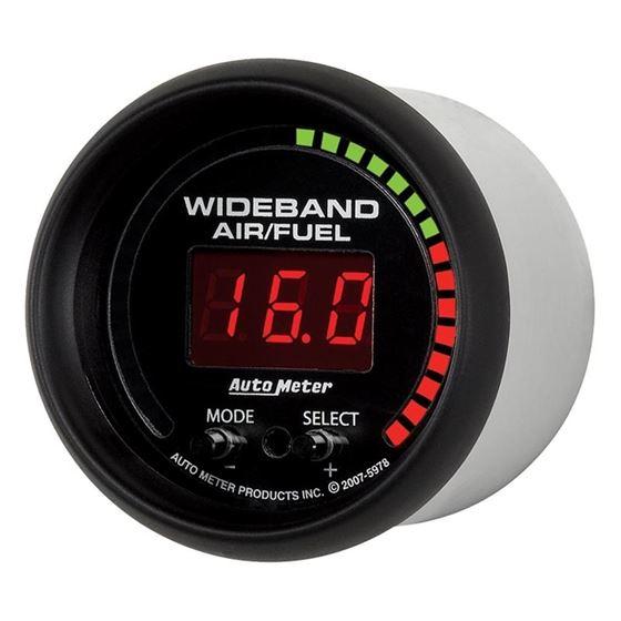 Auto Meter ES Digital 52mm Wideband Air/Fuel Kit-2