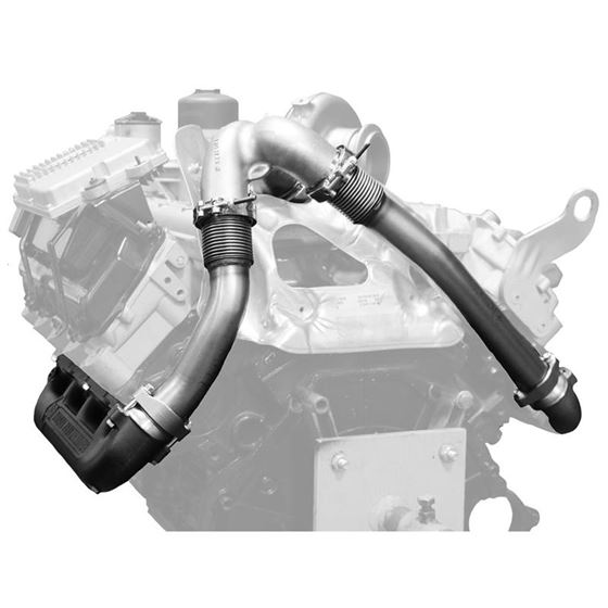 BD Diesel UpPipe Kit - Ford 03-07 6.0L PowerStro-2