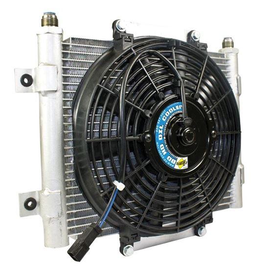 BD Diesel Xtrude Trans Cooler w/Fan 5.5in by JM-2