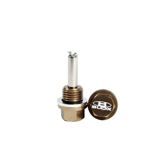 BLOX Racing Magnetic Oil and Transmission Drain-2