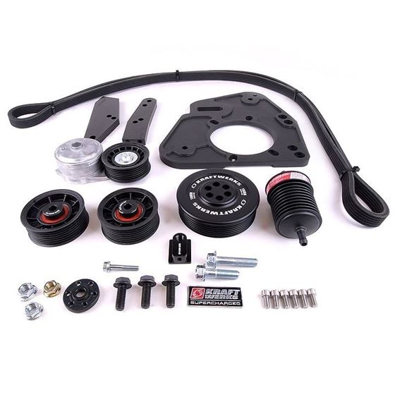 KraftWerks BRZ / FRS / FT86 Supercharger Kit Inc-2