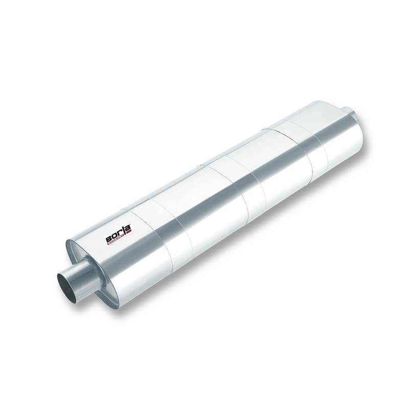 Borla 3-inch ID In/Out x 34-inch x 8.5 -inch x 5.5