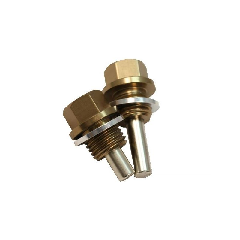BLOX Racing Magnetic Oil and Transmission Drain Pl