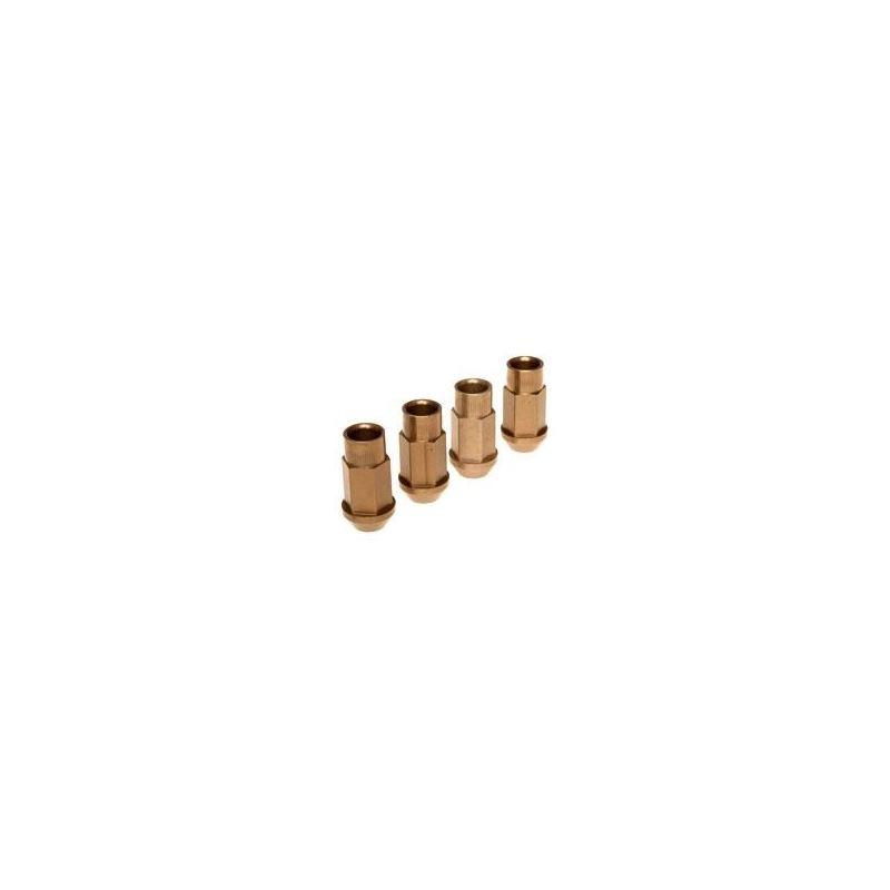 BLOX Racing Street Series Forged Lug Nuts - Gold 1