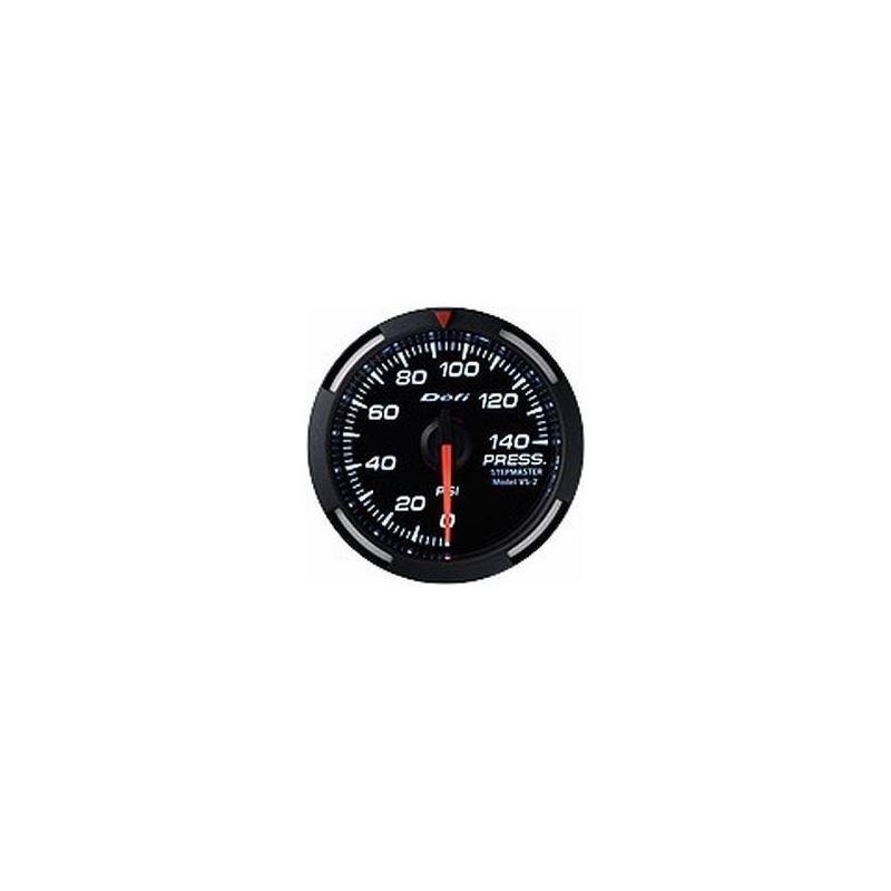 White Racer Series 52mm Gauges, US Measurements de